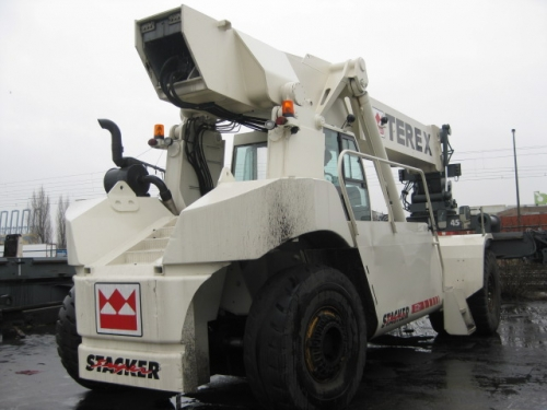 terex terex ppm tfc45 reach stacker 45000kg rh brabantagindustrie nl Electric Stacker Electric Stacker
